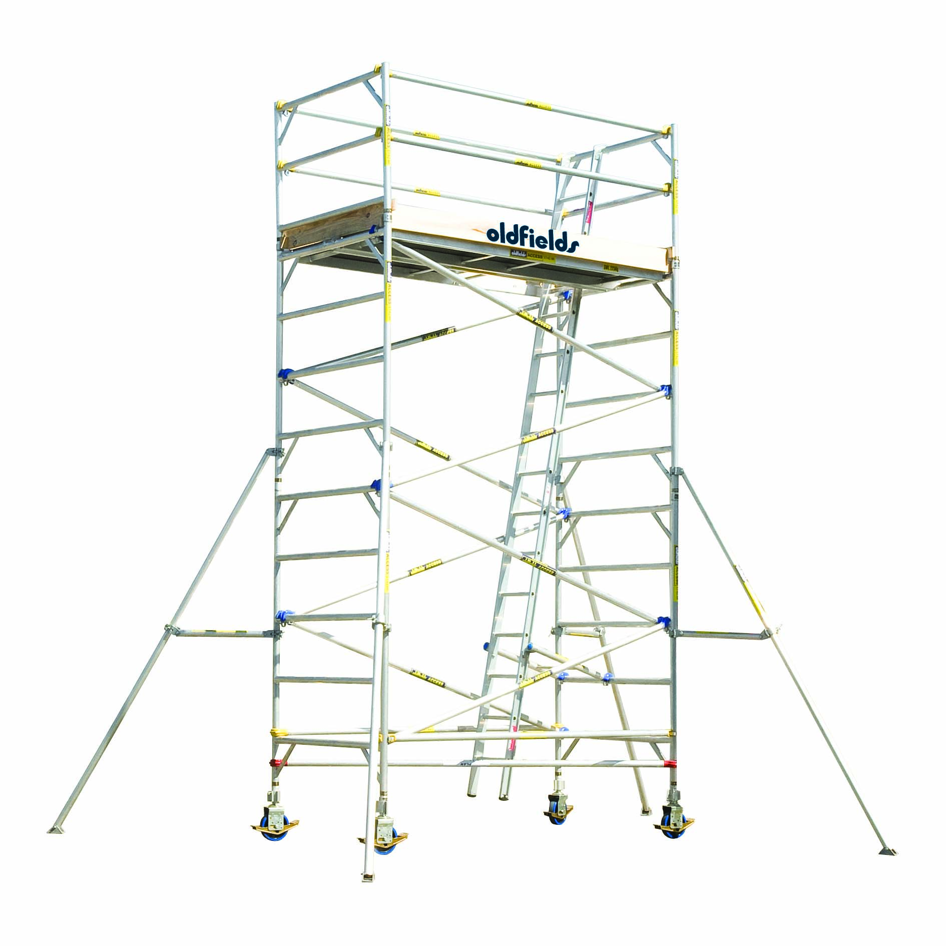 1890x1890 Mobile And Portable Scaffolding System In Aluminium Sydney