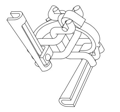 384x356 48.3mm Aluminium Scaffold Tube