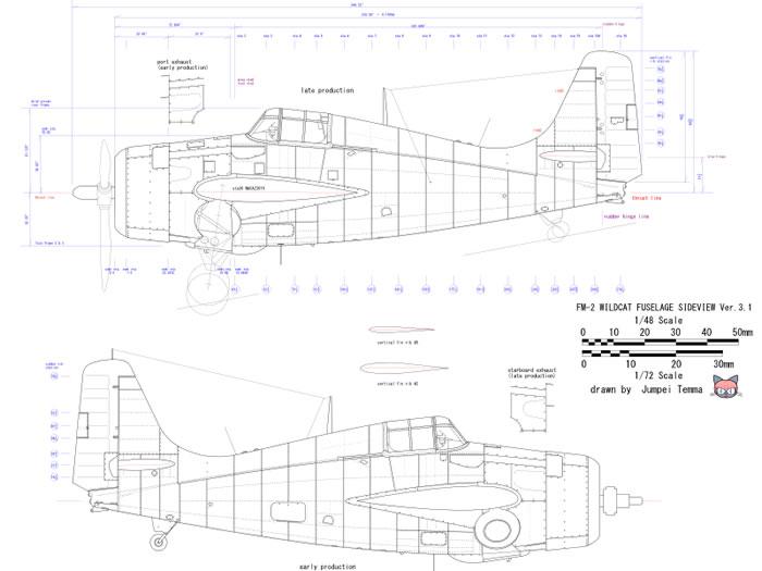 700x525 Hasegawa 172 Fm 2 Wildcat Conversion By Jumpei Temma