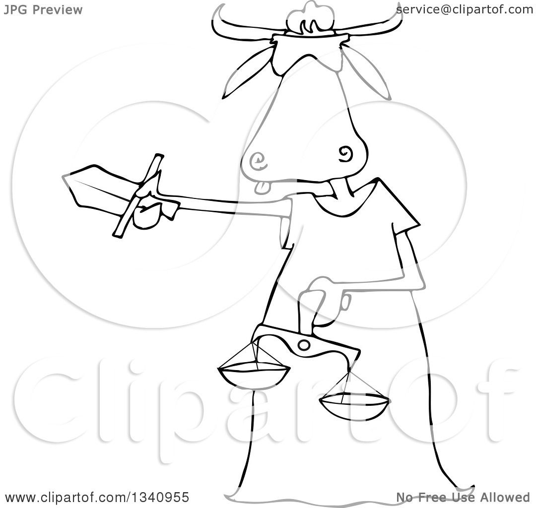 1080x1024 Lineart Clipart Of A Cartoon Black And White Blindfolded Lady
