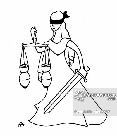 400x465 Scales Of Justice Cartoons And Comics