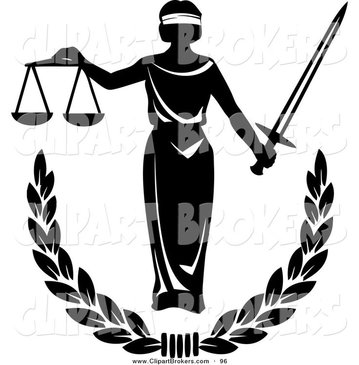 736x750 Scales Of Justice Clip Art Black And White Clipart Collection