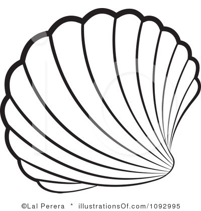400x420 Sea Shell Clipart
