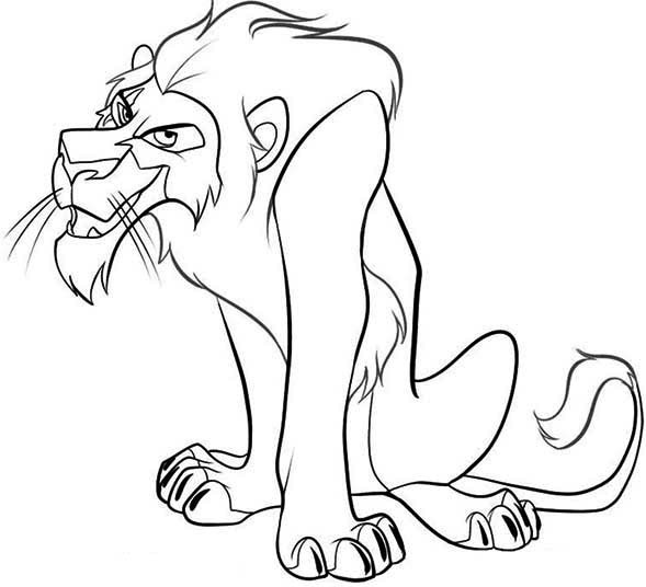 Scar Lion King Drawing
