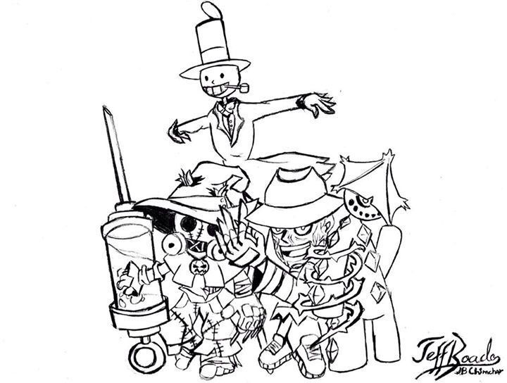 720x544 My Drawing Of Scarecrow Comics Amino