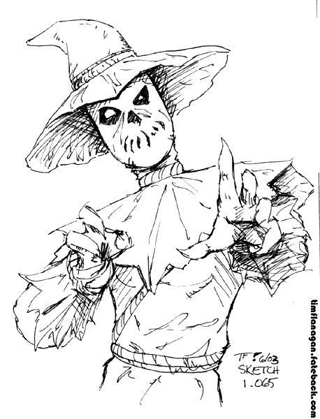 458x600 Scarecrow 6 03 By Timflanagan