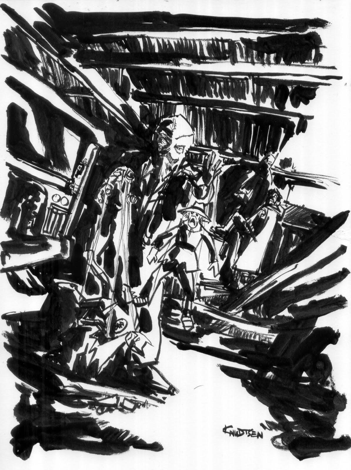 1194x1600 Sketch Lottery Scarecrow(Batman, Not Stupid Wizard Of Oz) Damn
