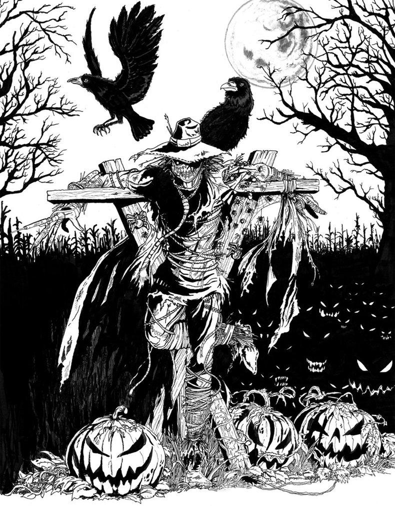 790x1011 The Scarecrow By Tardistailz700
