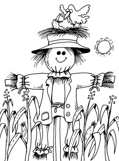 400x544 Scarecrow John Martin Art