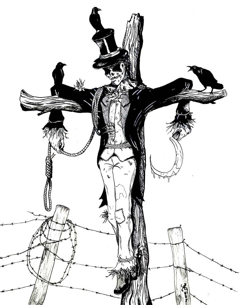 783x991 Scarecrow By Kyohazard