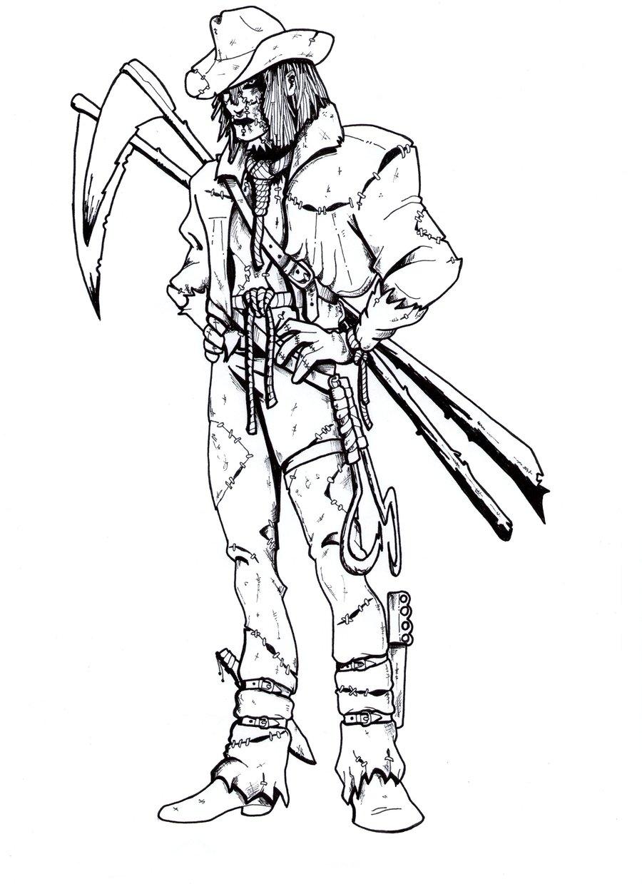 900x1239 Extreme Scarecrow. By B Man G Man