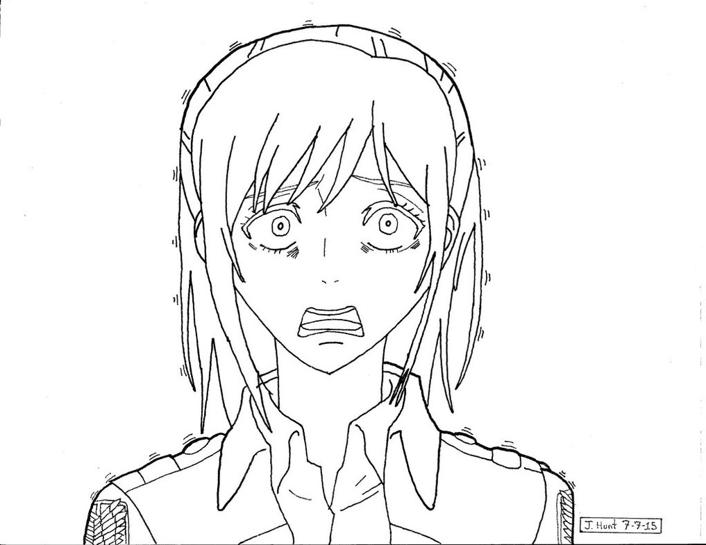 1017x786 Sasha Braus Scared Lineart By Kagome122885