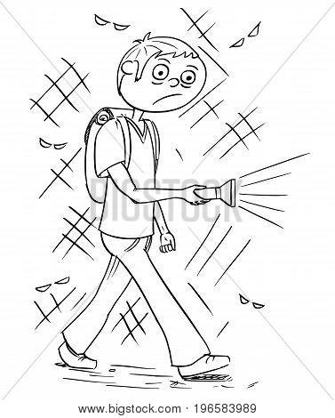 377x470 Hand Drawing Cartoon Vector Vector Amp Photo Bigstock