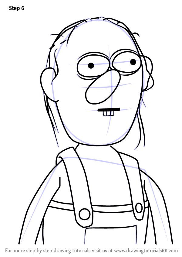 600x846 Learn How To Draw Roy From Don'T Hug Me I'M Scared (Don'T Hug Me I