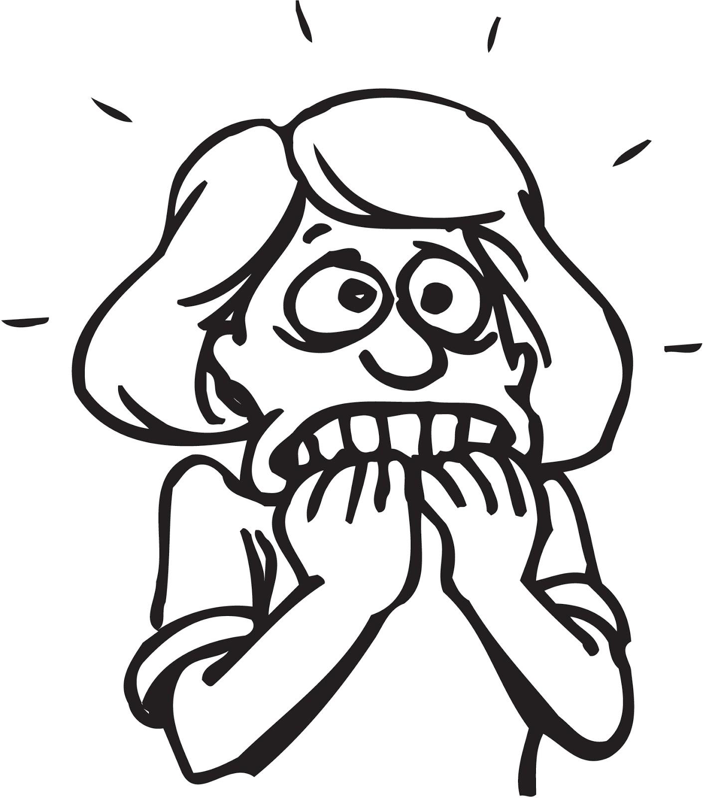 1410x1600 Scary Cartoon Drawings Draw Scared Anime Face Scary Cartoon
