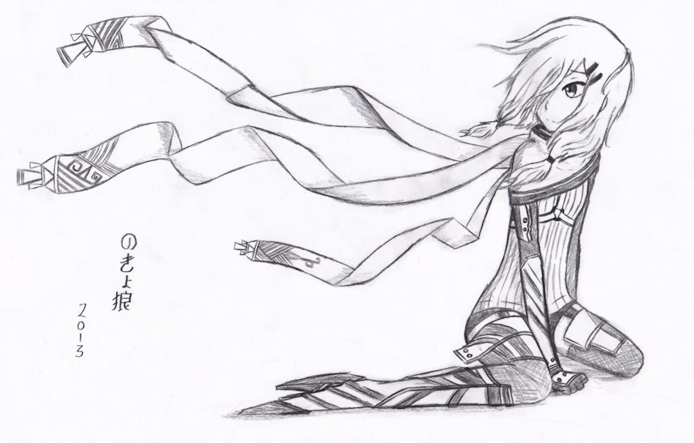 1000x638 Wind, Scarves, And Metal (Sketch) By Nokyookami