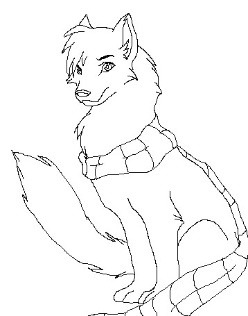 358x455 Wolf Scarf By Iispicy Bases