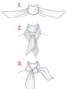 236x314 How To Tie A Scarf Accessories Scarves, Fashion