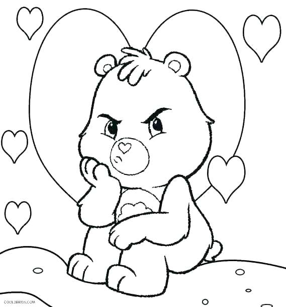 569x609 Epic Teddy Bear Coloring Pages To Print New Scary Bears Printable