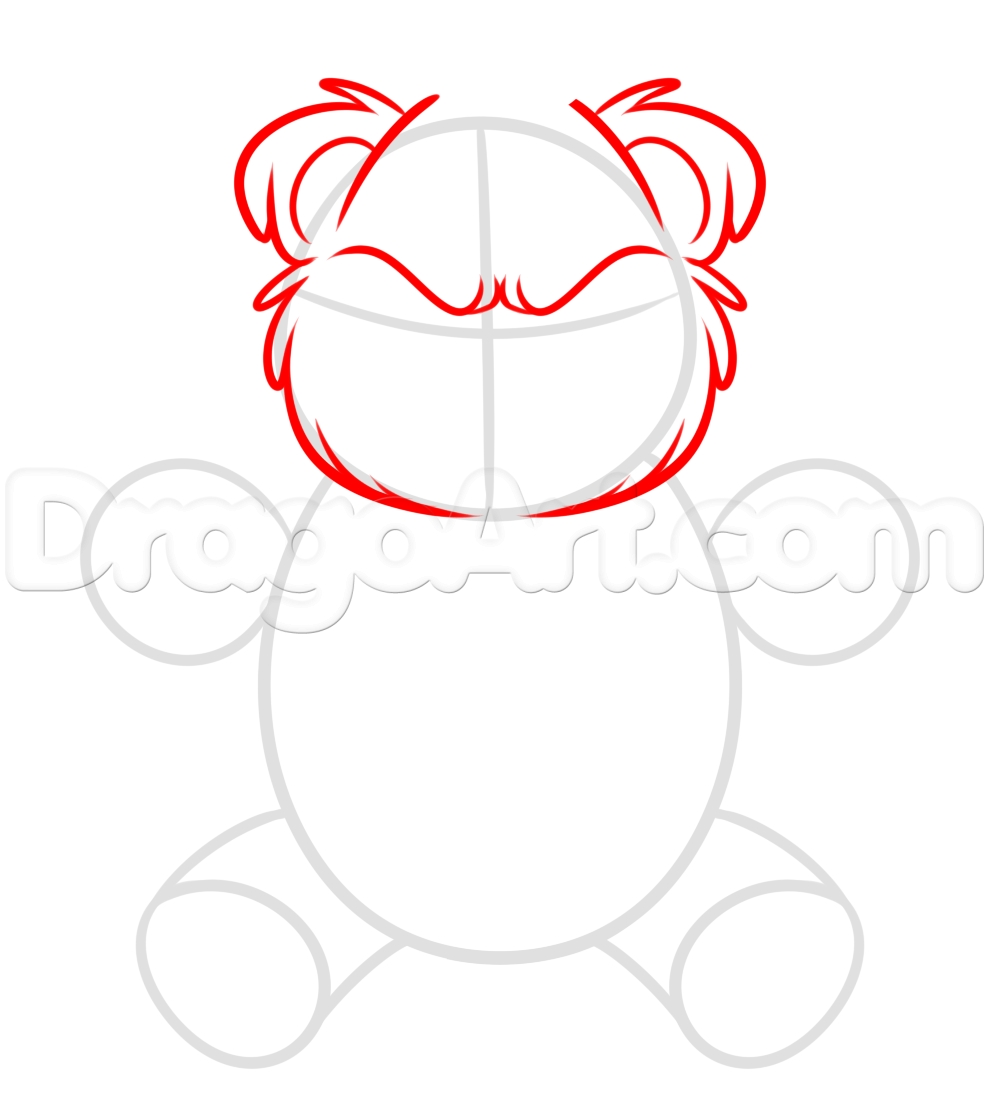 989x1100 How To Draw A Teddy Bear Step By Step Printable Coloring Pages