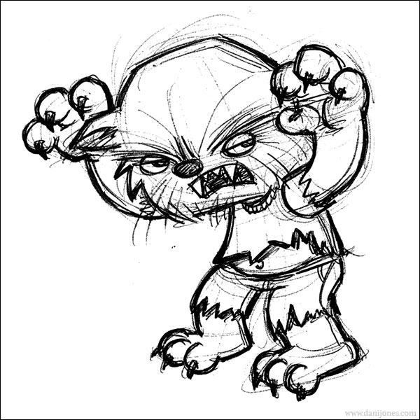 600x600 Werewolf Sketches, Drawings, Pictures I Love Werewolves