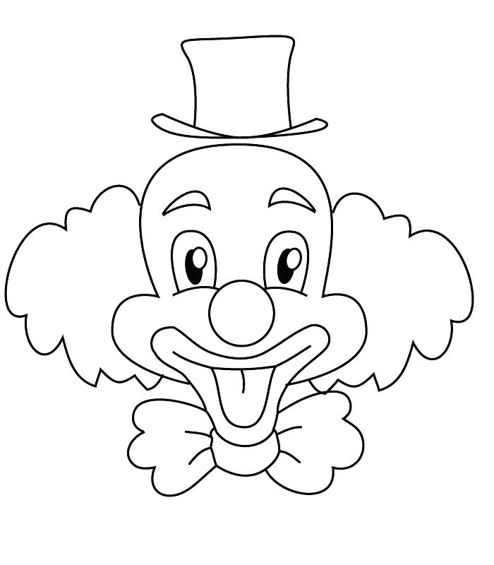 700x800 Best Coloring Pages Of Scary Clowns Fee Evil Clown Drawings