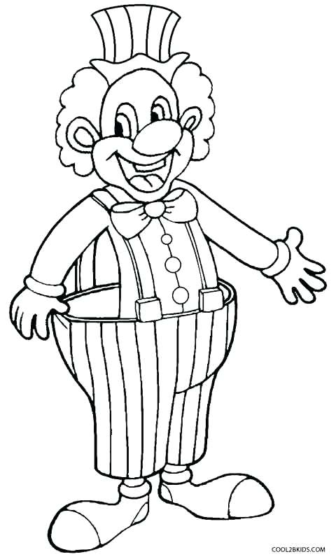 480x799 Scary Clown Coloring Pages Coloring Pages Draw A Clown Stylish