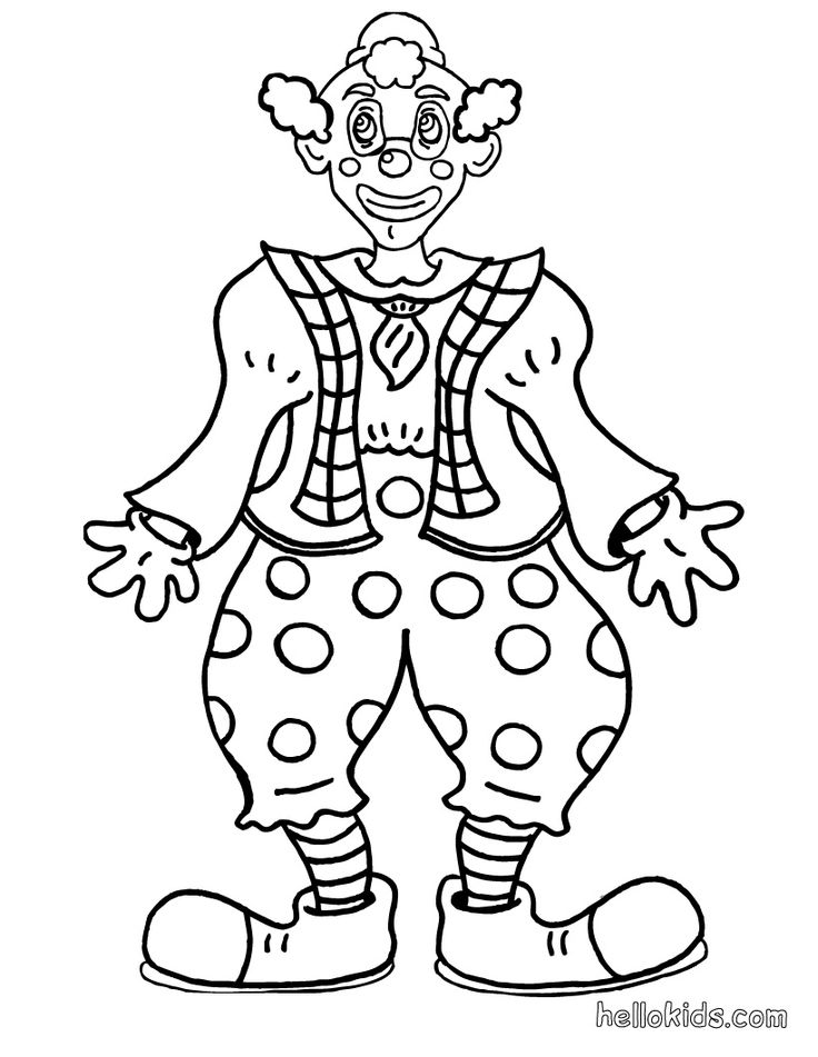 736x951 Drama Clown Faces Coloring Pages Circus Clown Faces