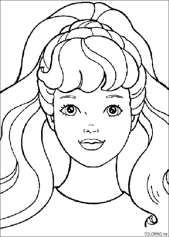 567x794 Faces Coloring Pages Evil Clown Coloring Pages Scary Clown Face