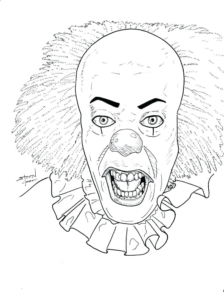 728x947 Circus Coloring Pages Free Clown Games Drawing For Kids Best
