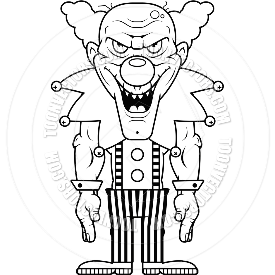 940x940 Clown Coloring Page Bozo Clown Coloring Page Free Scary Clown Face