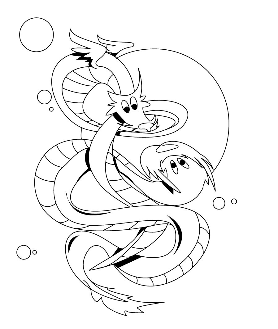 898x1060 Free Printable Dragon Coloring Pages For Kids