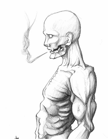 Scary Drawing