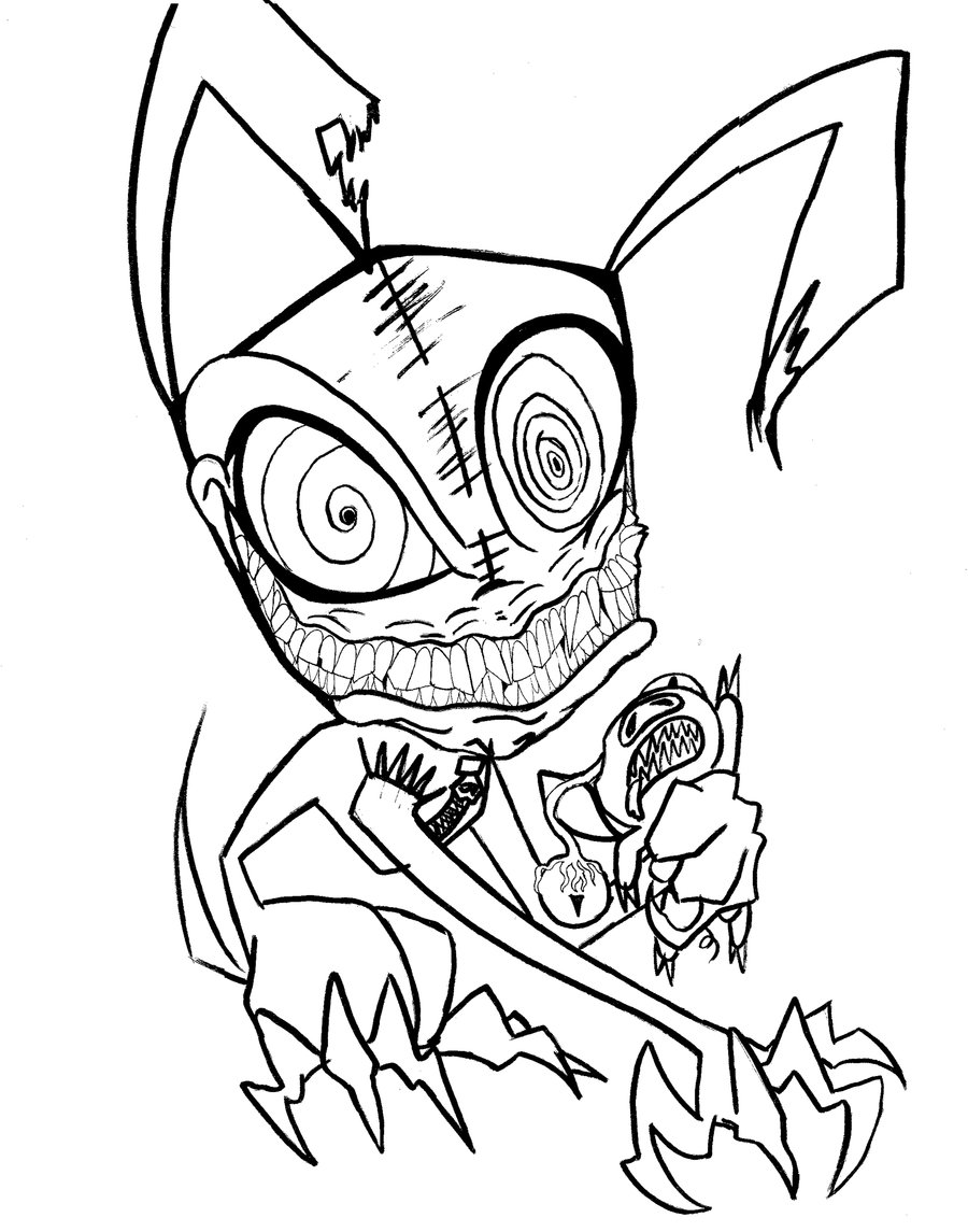 900x1145 Scary Drawings For Halloween Fun For Christmas