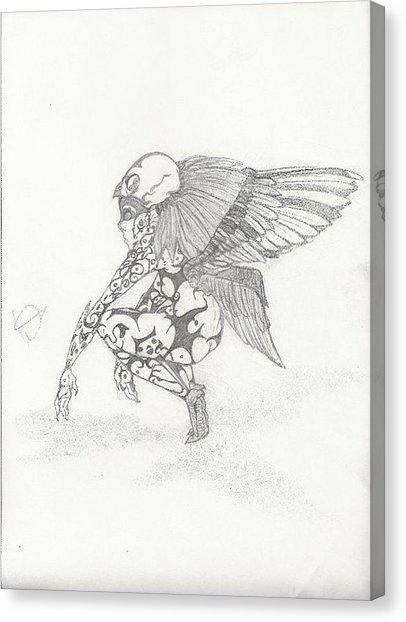 406x622 Scary Fairy Drawing By Crystal Guzman