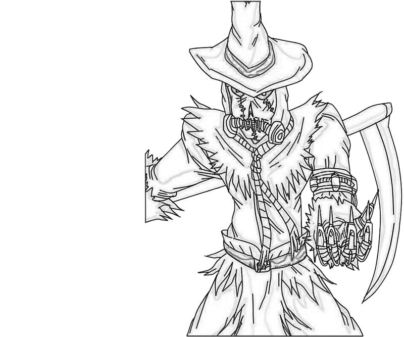 800x667 Scary Scarecrow Images