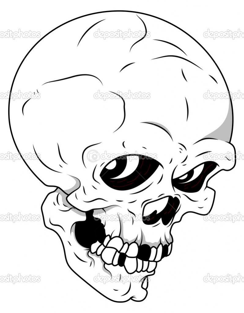 798x1024 Cartoon Halloween Drawings Scary Cartoon Halloween Drawings