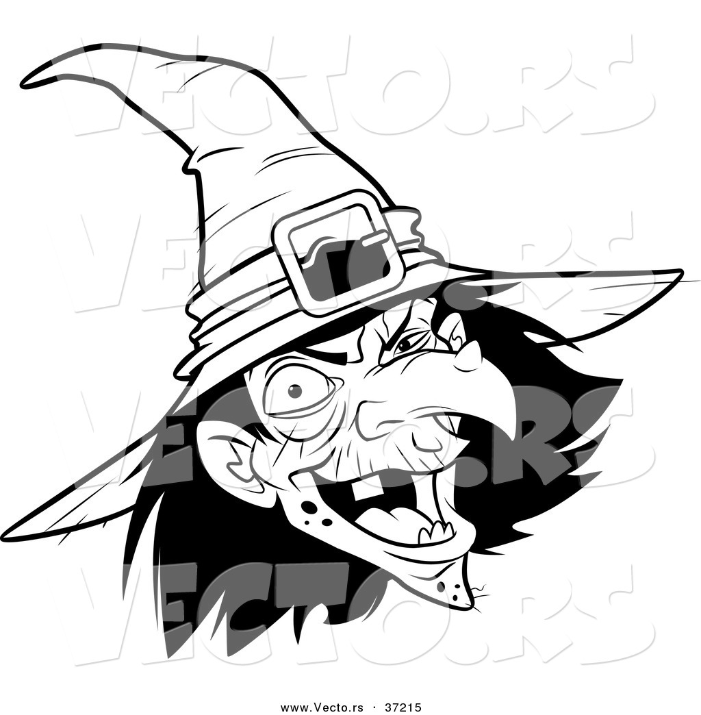 1024x1044 Drawn Witch Creepy Witch