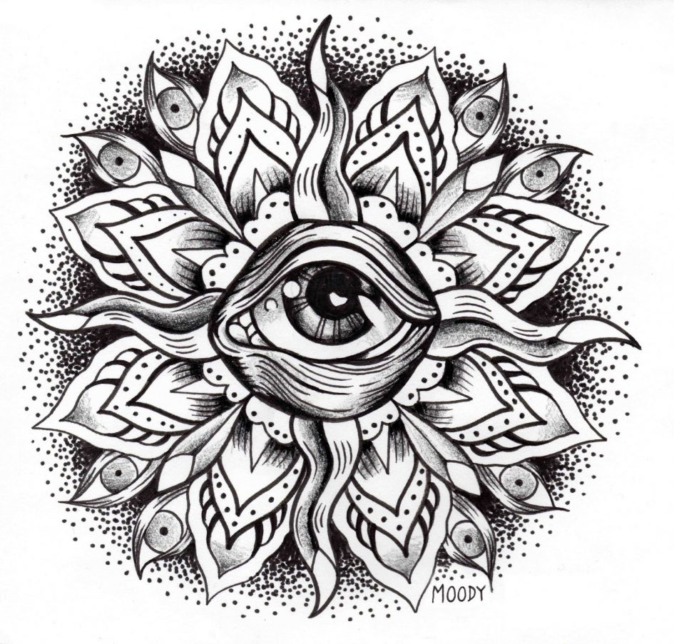 945x903 Third Eye Rising By Lauraborealisis On Coloring Pages Page Eyes