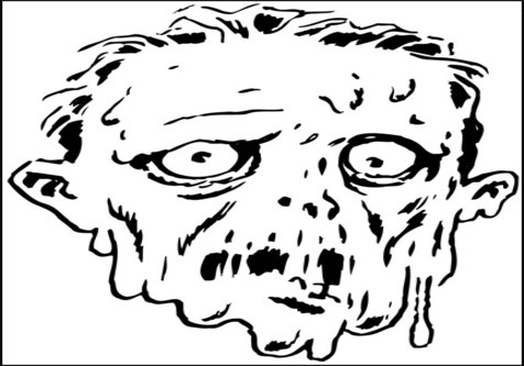 Coloring Pages Of Children S Faces : Scary face drawing at getdrawings free for personal use