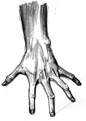 356x500 Scary Hand