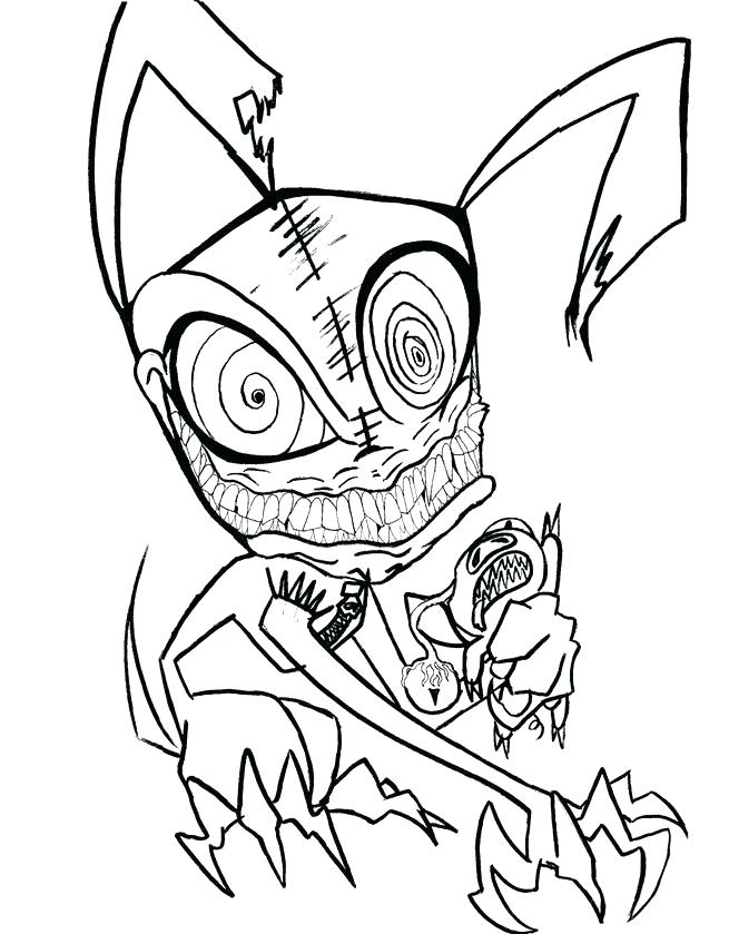 655x839 Printable Monster Coloring Pages Monsters Coloring Pages Really