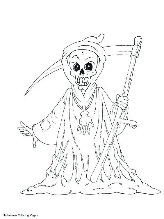 564x752 Scary Monster Coloring Pages Beast Monsters Monster Face Coloring