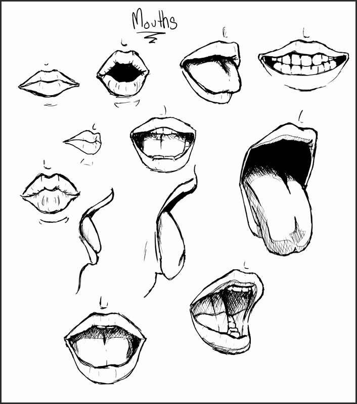 706x798 Angry Mouth Drawing Wihdf Unique Drawing Angry Monster Mouth Scary