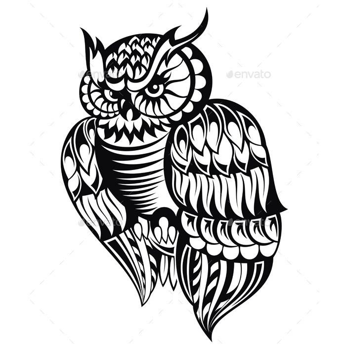 700x700 Owl Illustration Free Amp Premium Templates
