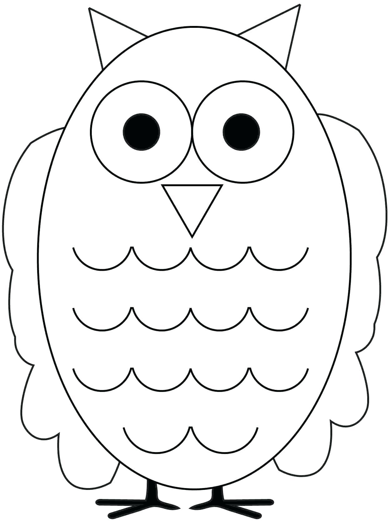1249x1676 Printable Printable Owl Template Coloring Page
