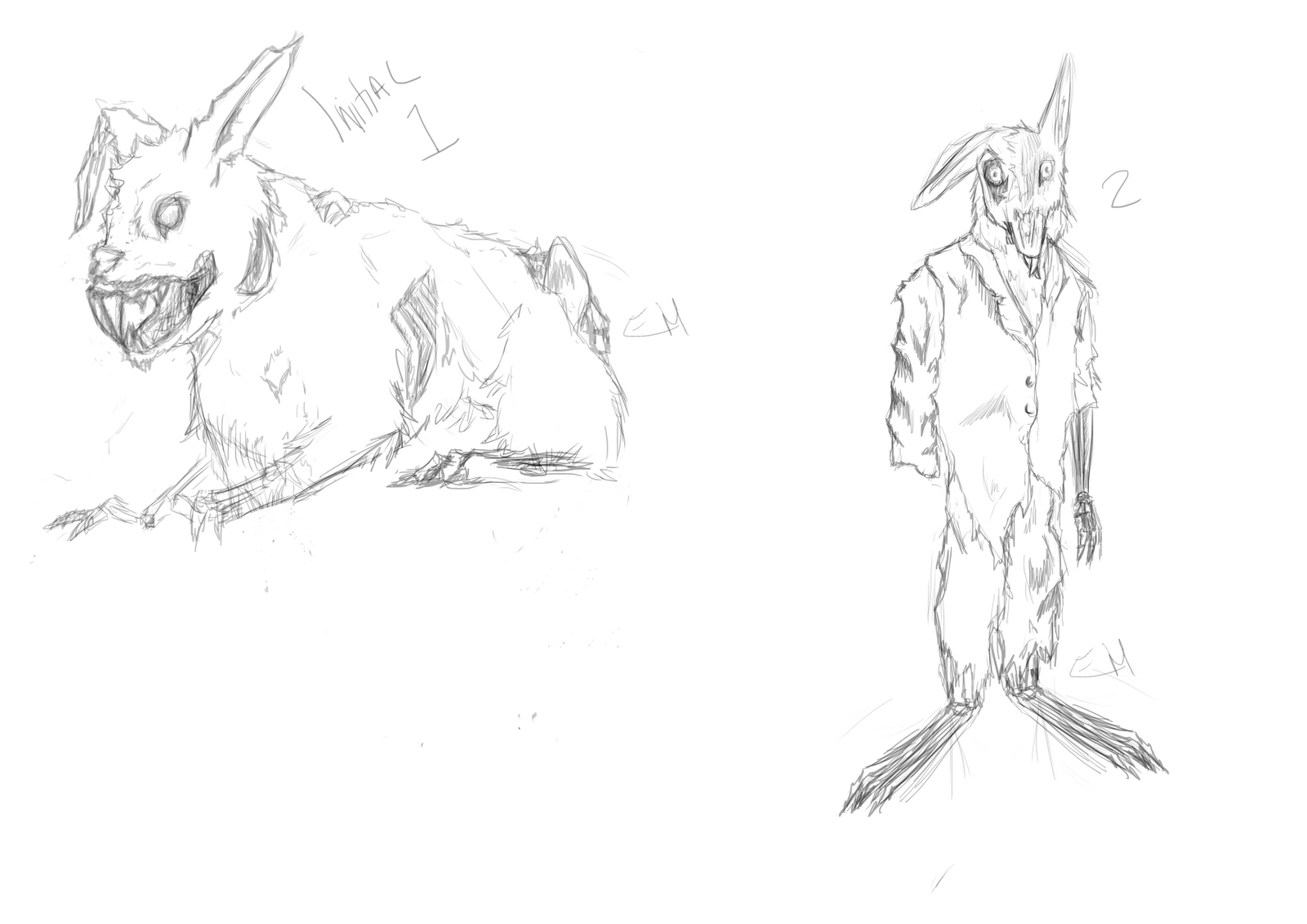 1600x1131 Halyen's Blog Scary Rabbit Concept