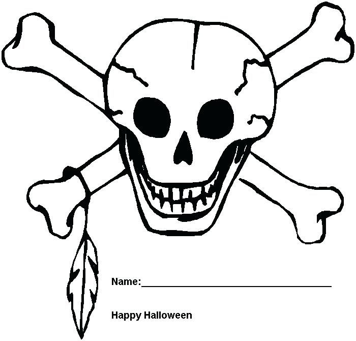 700x670 scary skeleton coloring pages vonsurroquenme