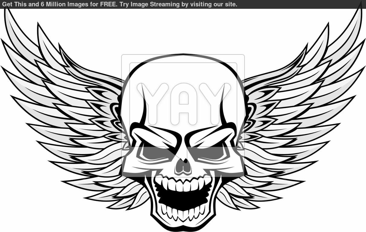 Scary skulls coloring pages ~ Scary Skull Drawing at GetDrawings.com   Free for personal ...