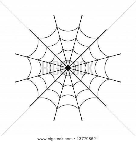 450x470 Spider Web Clip. Black Cobweb Vector Amp Photo Bigstock
